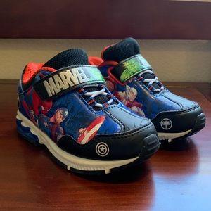 Toddler Marvel Light Up Sneakers